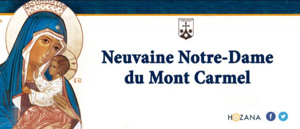 Neuvaine à Notre-Dame du Mont-Carmel