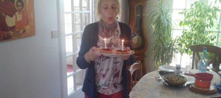 Prions pour la guérison d' Anne leucémique