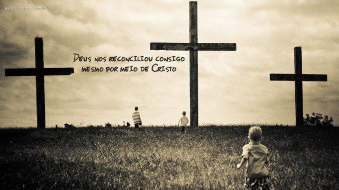 Cristo traz consigo o seu reino...