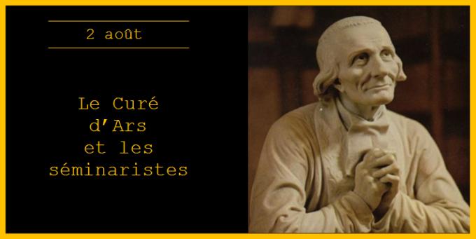 Le Curé d'Ars et les séminaristes