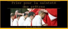 Prions pour la sainteté des prêtres
