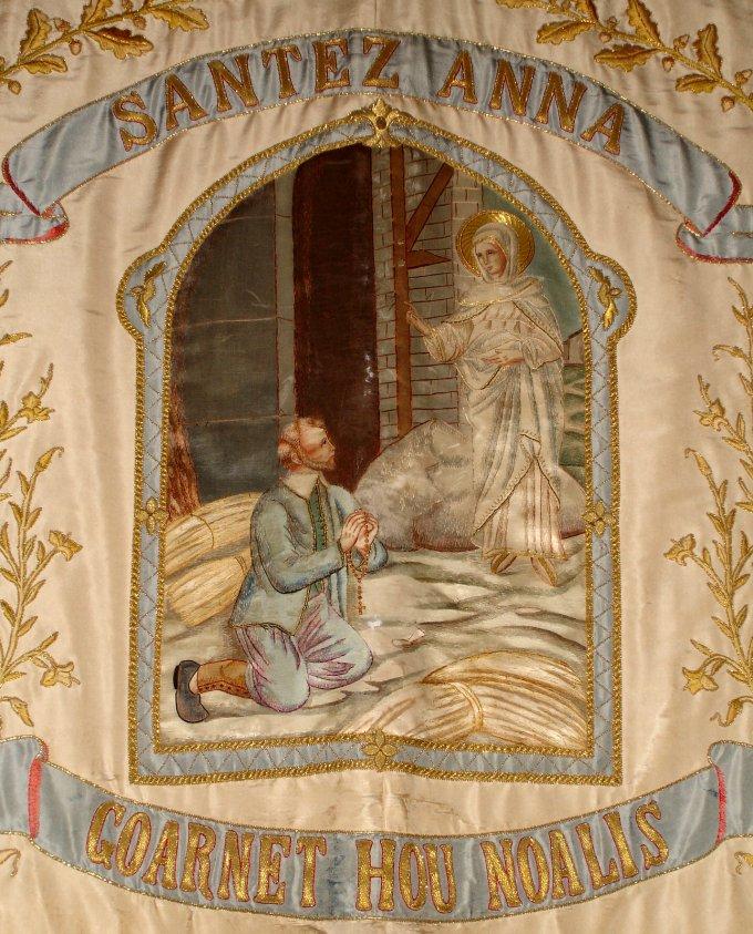 Récit des apparitions de Ste Anne à Yvon NICOLAZIC