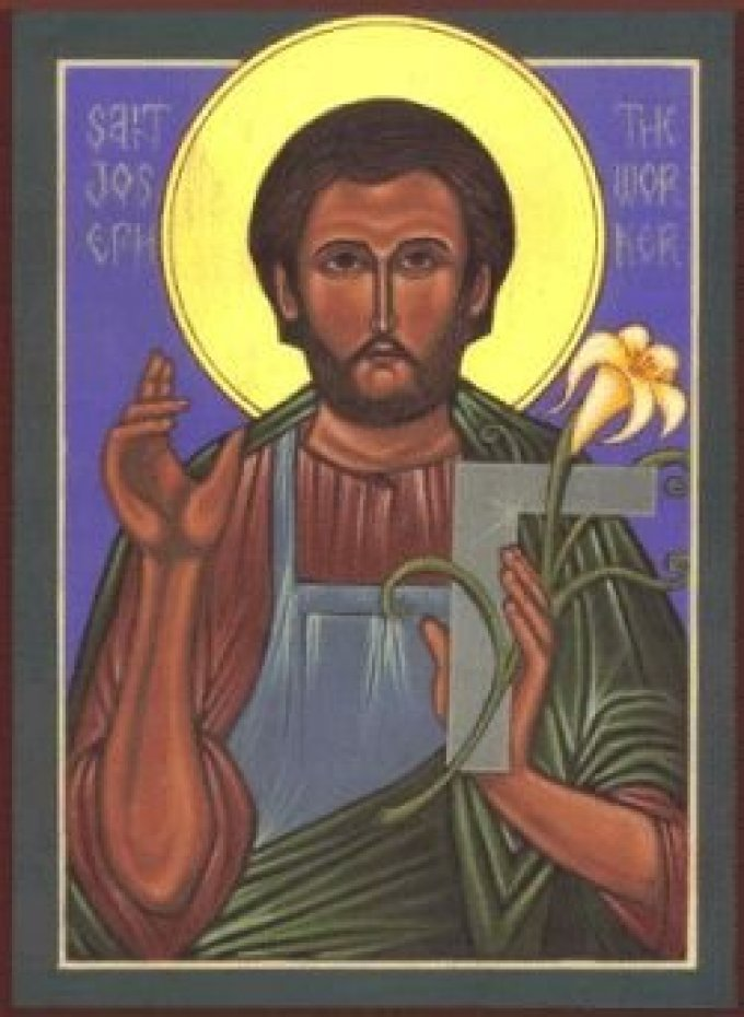 St. Joseph, Patron Saint of Workers, Pray for Us!