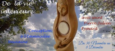 Petite Neuvaine à l'Immaculée Conception… De la vie intérieure