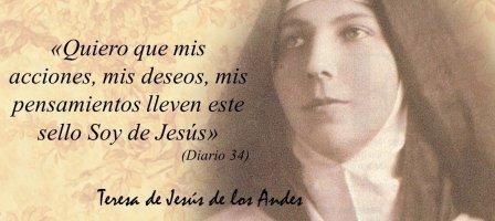 Orar con Santa Teresa de los Andes