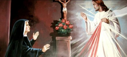 A Divine Mercy daily message from St. Faustina