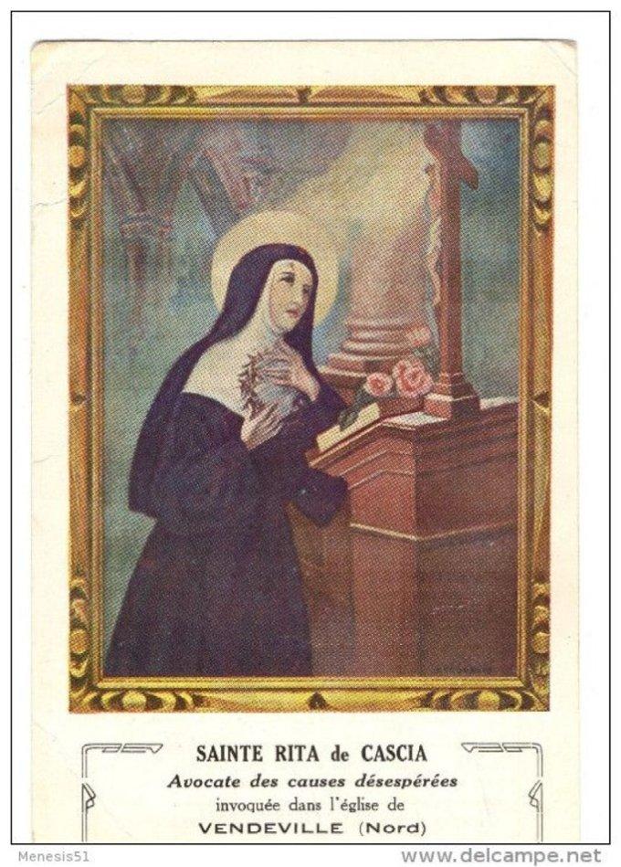 Mai : Mois dédié à Sainte Rita : Prions