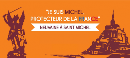 Neuvaine à saint Michel archange pour la France