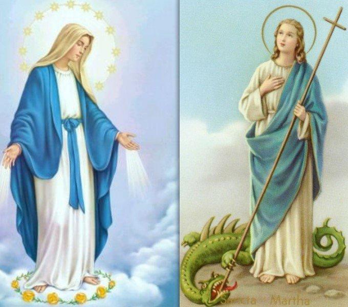 N. a la Très Ste Vierge et à Ste Marthe - SYLLOGOMANIE