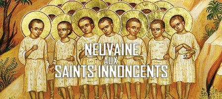 Neuvaine aux Saints Innocents