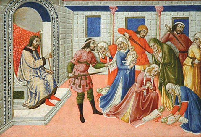 Jour 3 : Neuvaine aux Saints Innocents