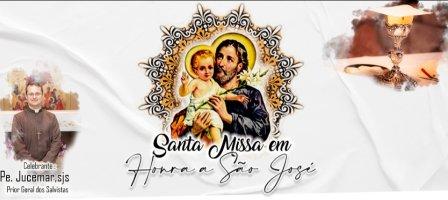 Missa com São José - Transmissão ao vivo