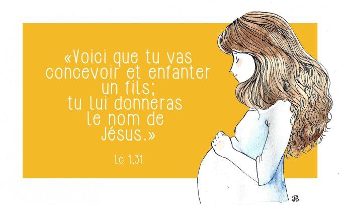 Tu lui donneras le nom de Jésus