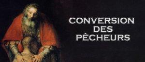 Prier pour la conversion des pécheurs