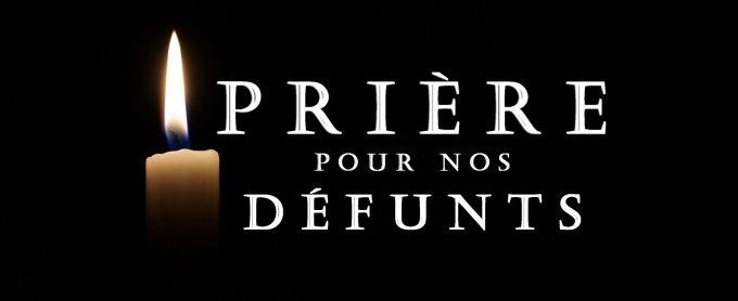 PRIÈRES POUR LES DÉFUNTS