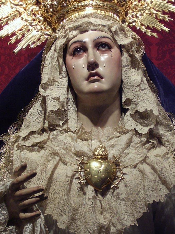 Par les larmes de la Sainte Vierge Marie, sauvez le Brésil, Seigneur