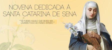 Novena em honra a Santa Catarina de Sena
