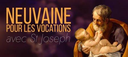 9 jours pour les vocations avec Saint Joseph