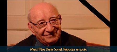 Prions pour le repos de l'âme du Père Denis Sonet