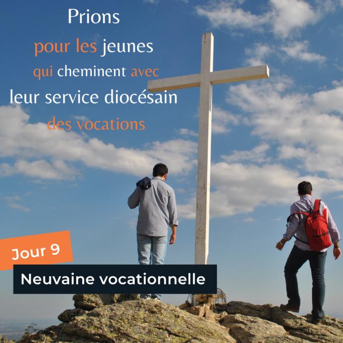 Jour 9 : Prions pour les jeunes qui cheminent avec leur service des vocations