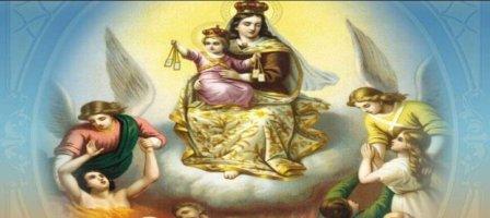 Com a Virgem Maria, rezemos pelas Almas do Purgatório!