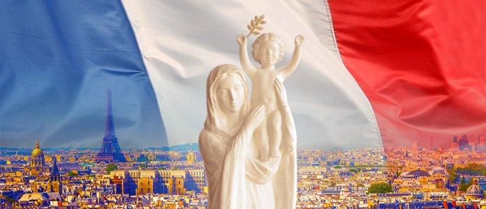 Prions pour la France avec la Vierge Marie