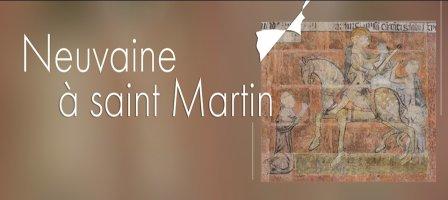 Neuvaine à saint Martin de Tours