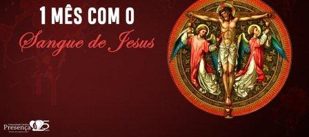 Um mês de oração com o Sangue de Jesus