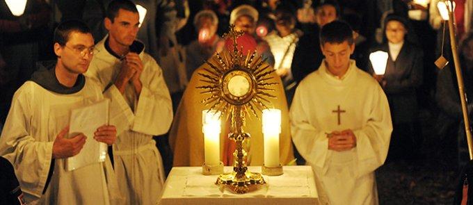 Dimanche 11 octobre - La joie d'une vie centrée sur l'amour de Dieu et de l'Eucharistie