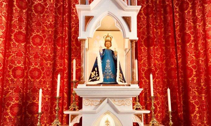 Samedi 31 juillet 2021 : le sanctuaire de l'Enfant Jésus de Prague
