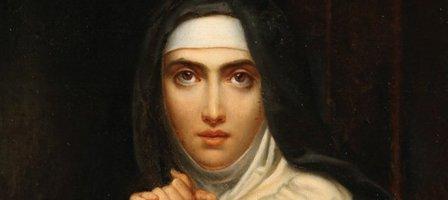 Prions avec Sainte Thérèse d'Avila