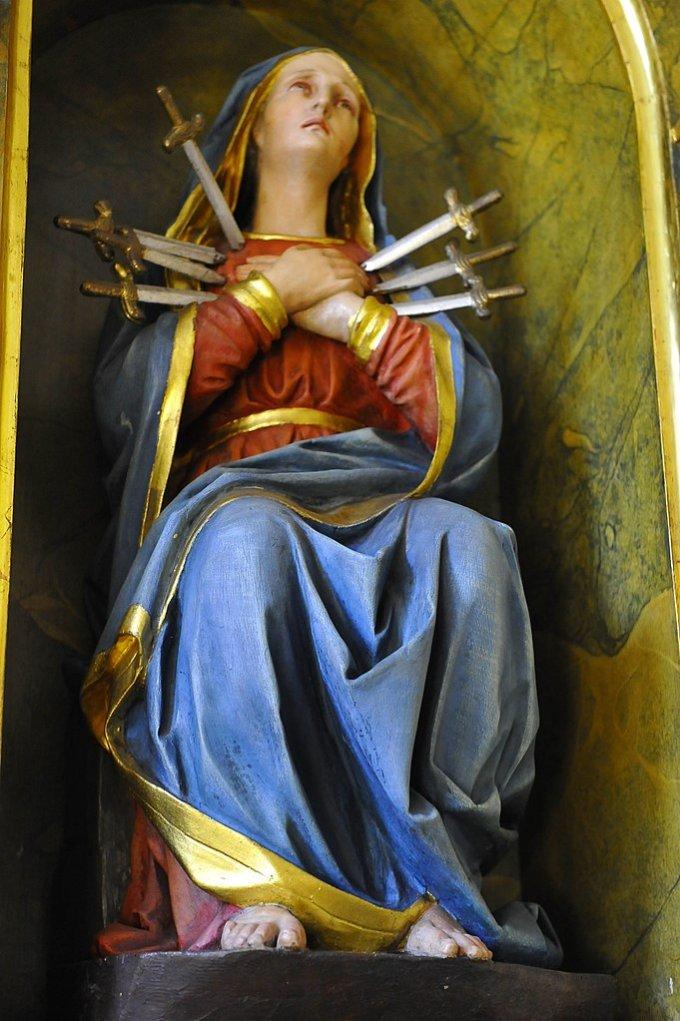 Intermède du 15 septembre: Notre-Dame des 7 Douleurs