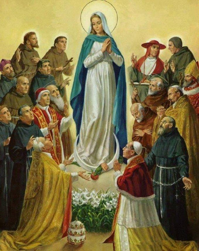 Grand Rosaire pour l'Église (samedi 09 octobre) : Mystères Lumineux