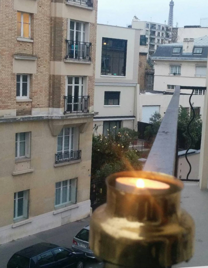 #LightForParis