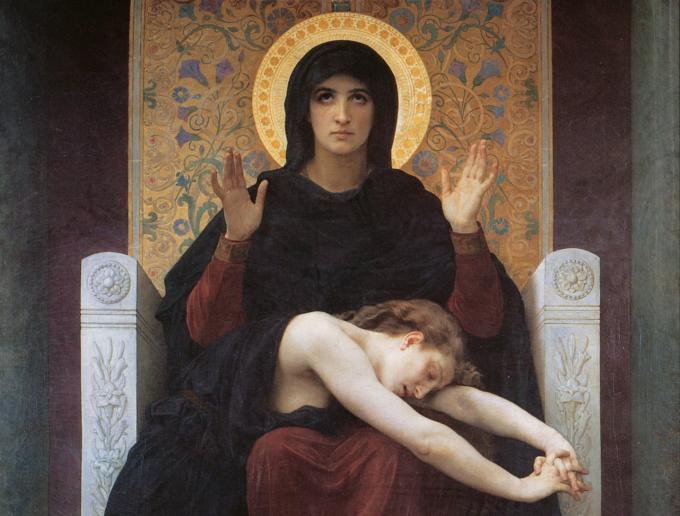 « Ô Mère de Miséricorde, venez consoler notre détresse »