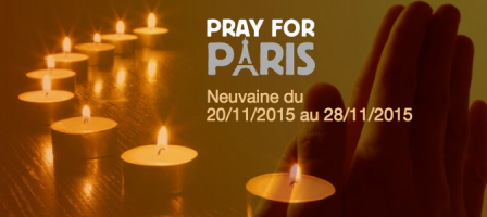 Prions pour Paris - #PrayForParis