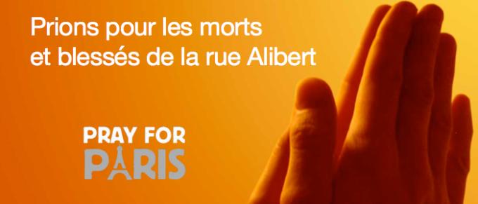 22/11/2015 : Prions pour les morts et blessés de la rue Alibert