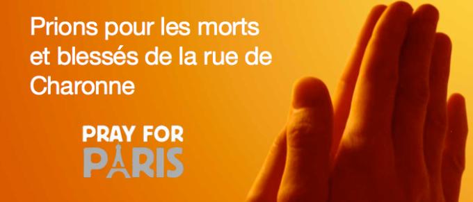 24/11/2015 : Prions pour les morts et blessés de la rue de Charonne