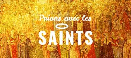 Prions avec les saints !