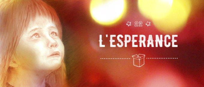 22 décembre : l'Esperance