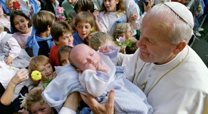 Saint Jean Paul 2, pape de la famille