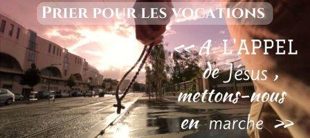 Prions pour les vocations et la vie consacrée