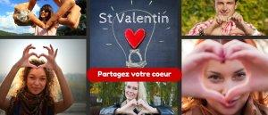 Prions pour partager notre coeur à la Saint Valentin !