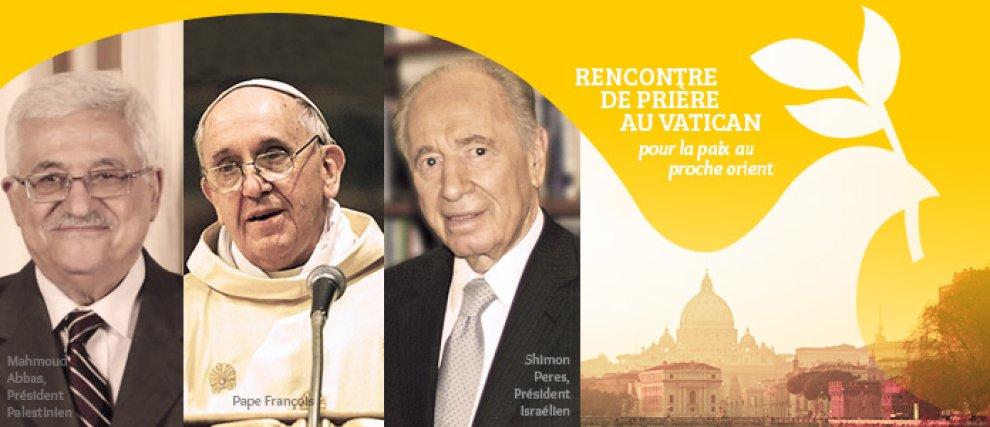 Prions pour la paix au Proche-Orient en union avec le Pape