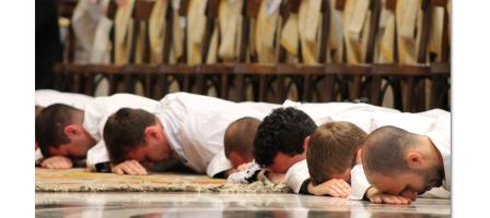 Prions pour les futurs prêtres ordonnés au mois de juin