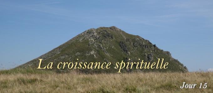 15e jour : La croissance spirituelle