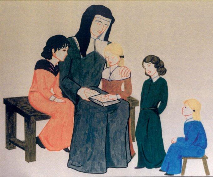 Le 15 mars : Sainte Louise de Marillac