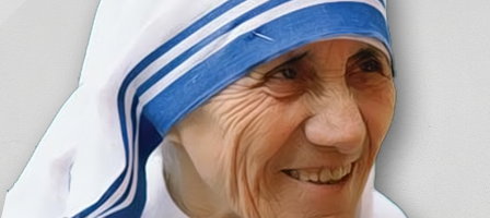 Prions pour la canonisation de Mère Teresa