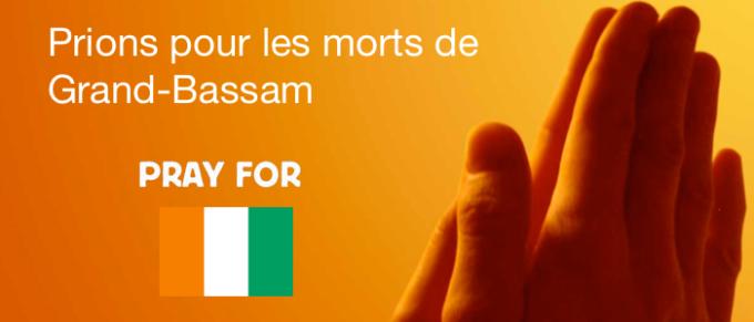 Prions pour les morts de Grand-Bassam