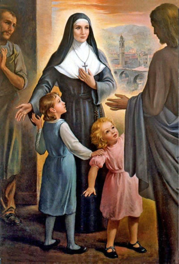 Le 21 mars : Sainte Benedetta Cambiagio Frassinello